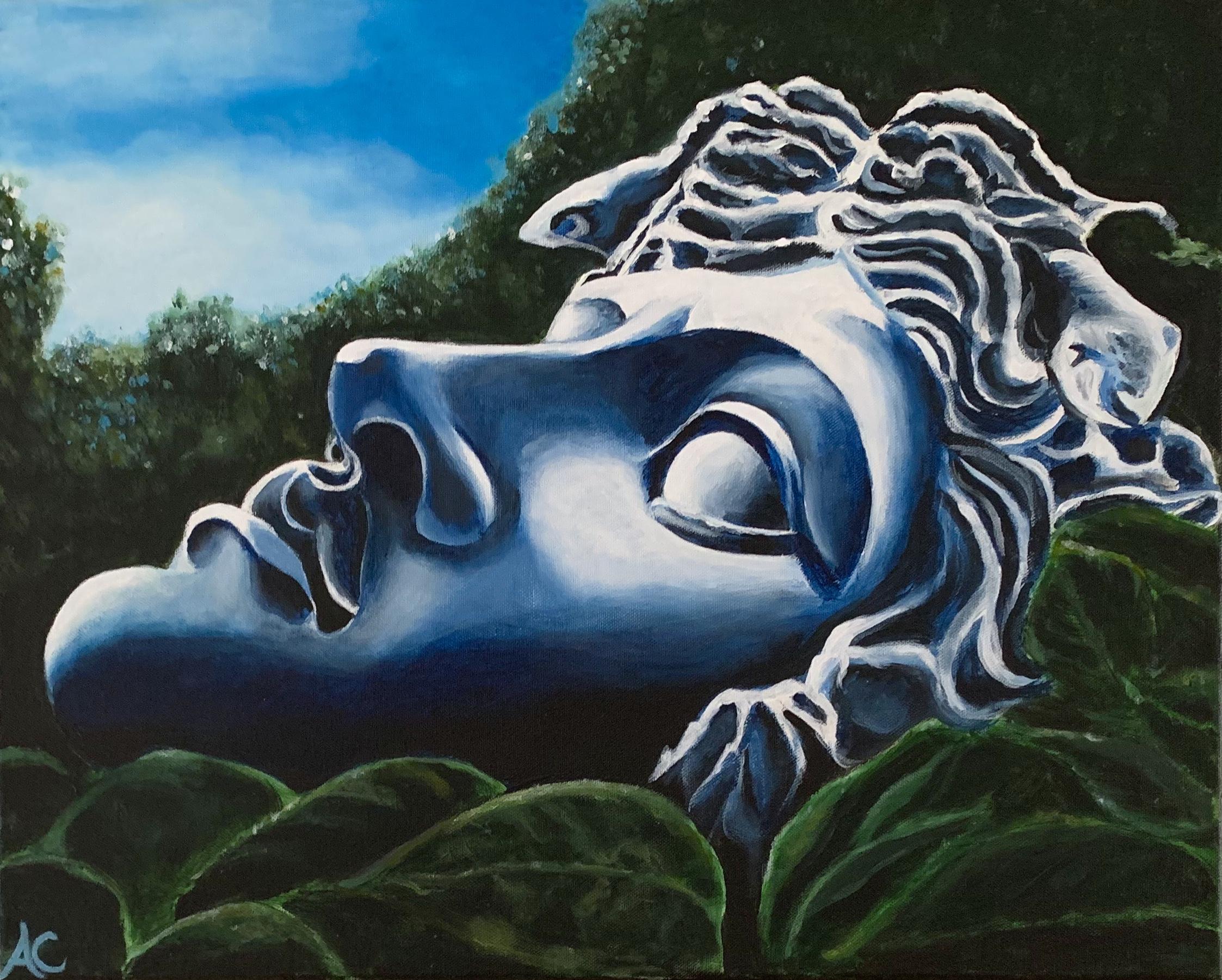 Schilderij | Medusa | eur 500,-