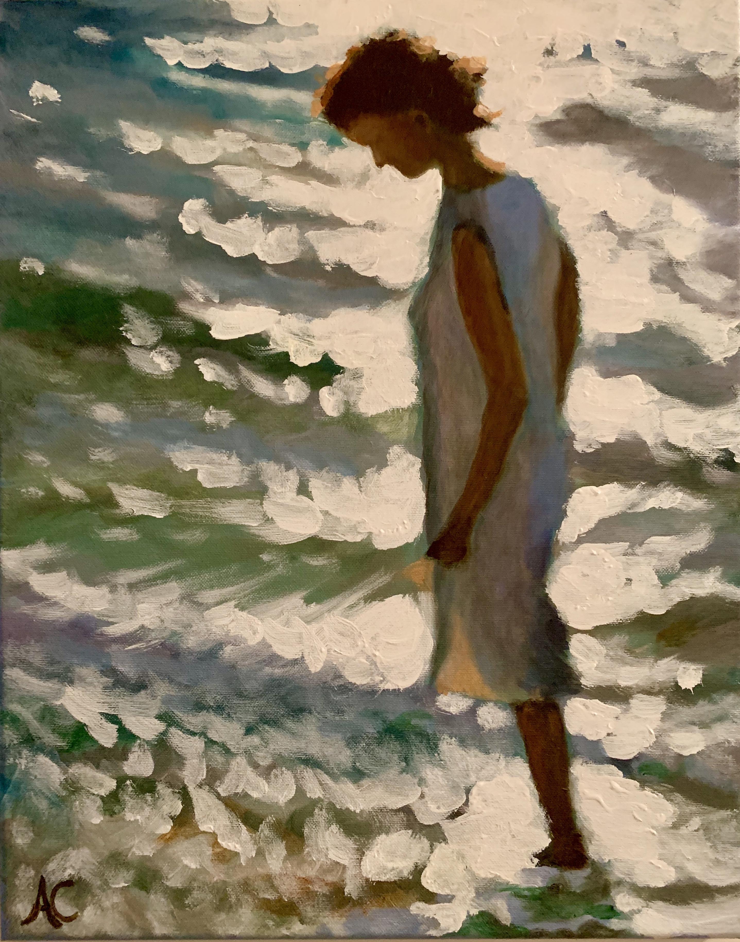Schilderij   strandlicht   eur 350